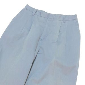 Vintage Chic high waisted trousers size 16 blue